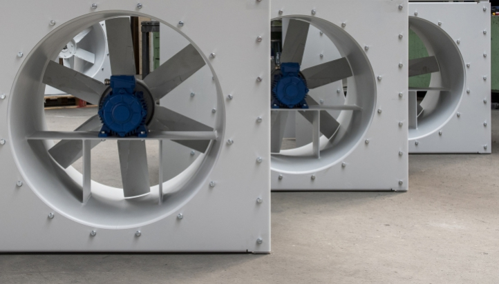 Industrial Axial Fans - Standard or Customized - Naaykens